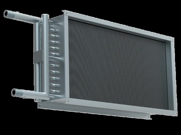 Водяной нагреватель для прямоугольных каналов WHR 1000*500-3