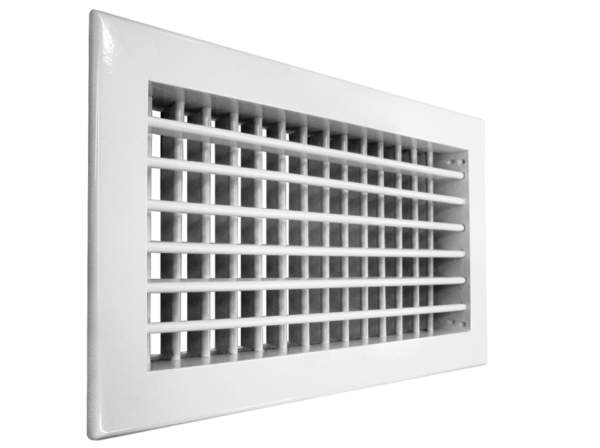 Настенная двухрядная решетка Shuft 2 WA 600*200