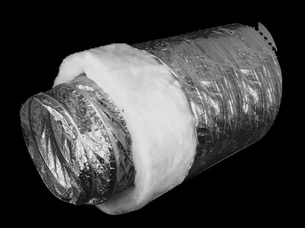 Воздуховод теплоизолированный Ballu Machine ISOBFA 127мм х10м