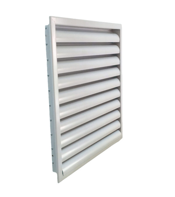 Наружная решетка алюминиевая 500h x 1000