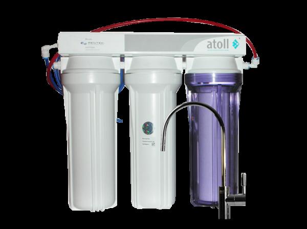 Проточный питьевой фильтр Atoll a-313e g/d-31s STD