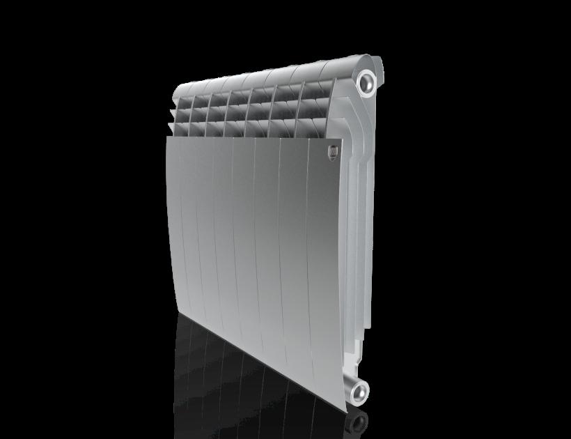 Радиатор Royal Thermo BiLiner 500 Silver Satin - 8 секц.