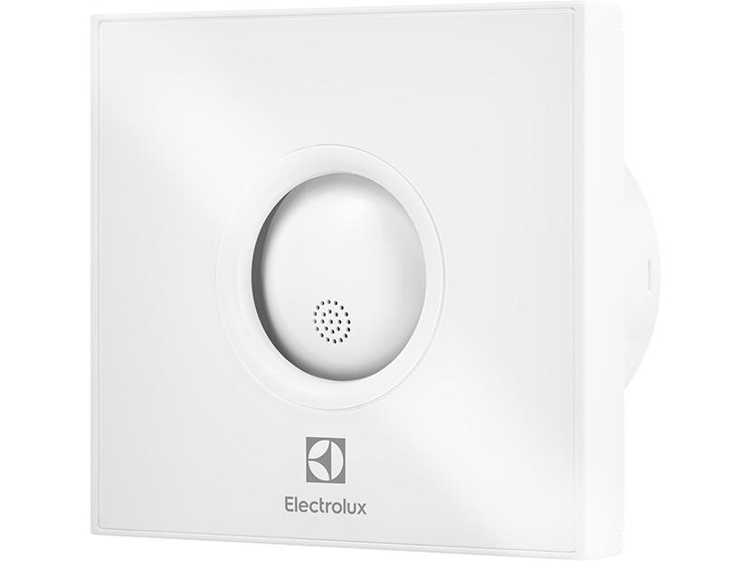 Вентилятор вытяжной Electrolux серии Rainbow EAFR-100TH white с таймером и гигростатом