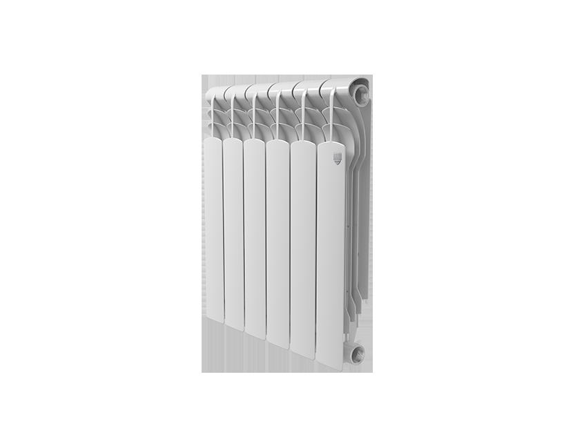 Радиатор биметалл Royal Thermo Revolution Bimetall 500 – 6 секц.