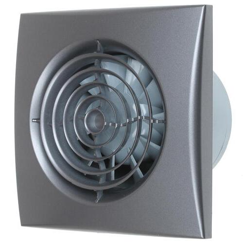 Эковент AURA 4C Dark Gray Metal вентилятор вытяжной