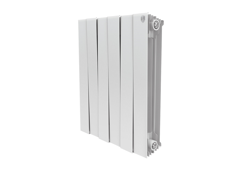Радиатор биметалл Royal Thermo PianoForte 500 Bianco Traffico - 6 секц.