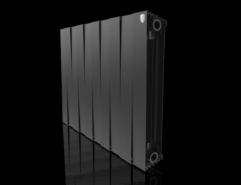 Радиатор биметалл Royal Thermo PianoForte 500 Noir Sable - 10 секц.