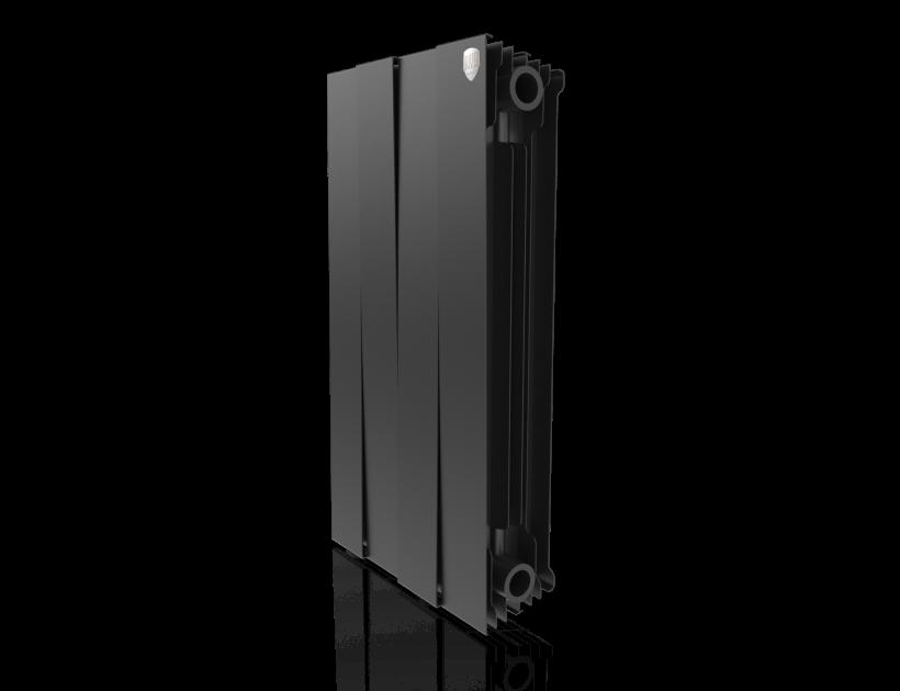 Радиатор биметалл Royal Thermo PianoForte 500 Noir Sable - 4 секц.