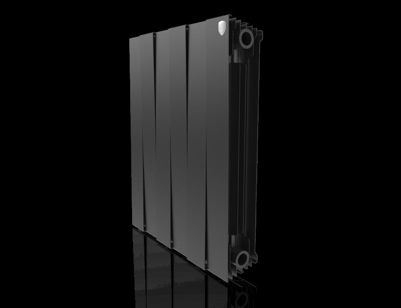Радиатор биметалл Royal Thermo PianoForte 500 Noir Sable - 6 секц.