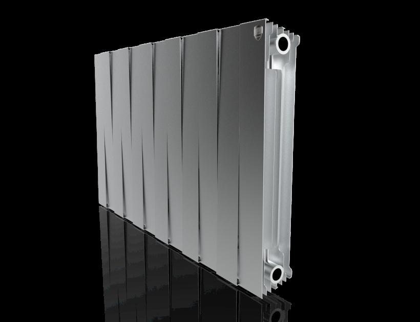 Радиатор биметалл Royal Thermo PianoForte 500 Silver Satin - 12 секц.
