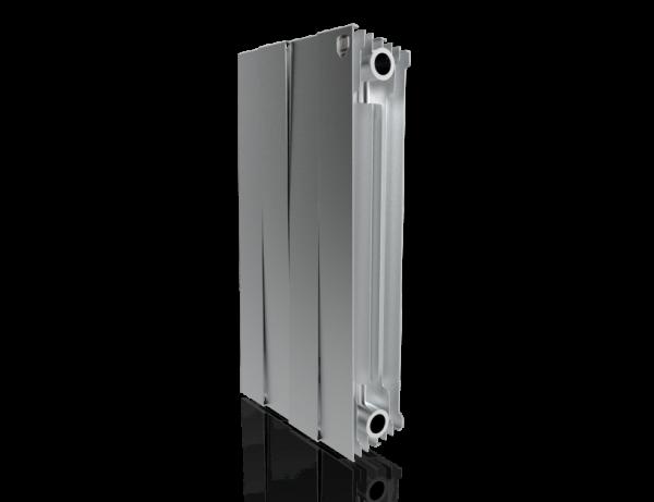 Радиатор биметалл Royal Thermo PianoForte 500 Silver Satin - 4 секц.