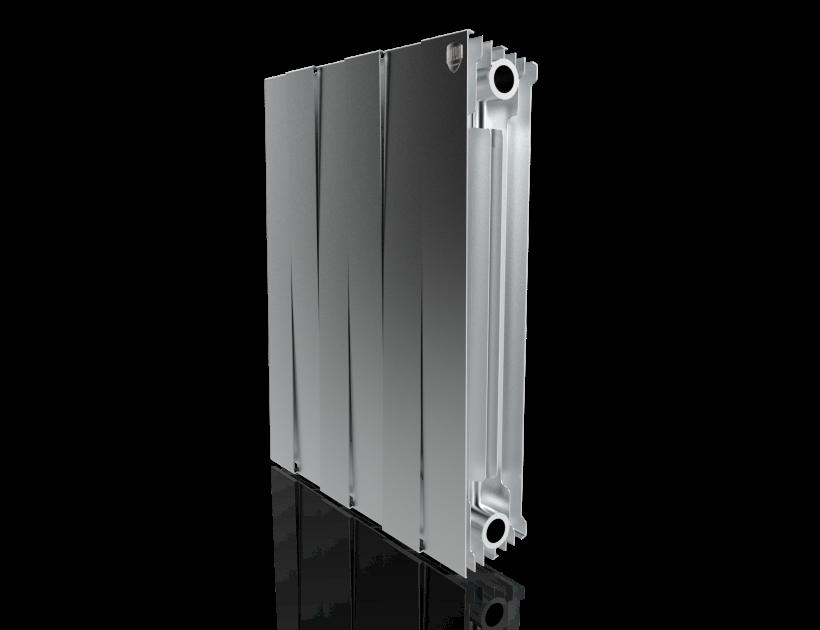 Радиатор биметалл Royal Thermo PianoForte 500 Silver Satin - 6 секц.