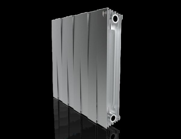 Радиатор биметалл Royal Thermo PianoForte 500 Silver Satin - 8 секц.