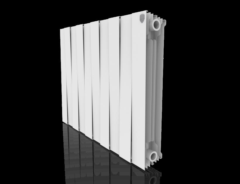 Радиатор биметалл Royal Thermo PianoForte 500 Bianco Traffico - 10 секц.