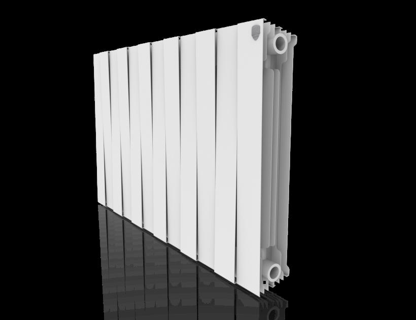 Радиатор биметалл Royal Thermo PianoForte 500 Bianco Traffico - 12 секц.