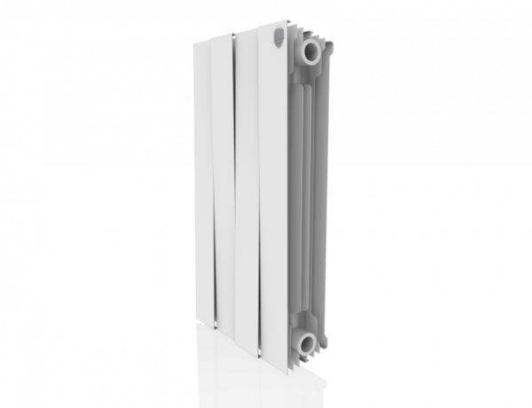 Радиатор биметалл Royal Thermo PianoForte 500 Bianco Traffico - 4 секц.