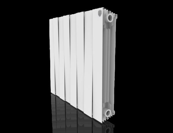 Радиатор биметалл Royal Thermo PianoForte 500 Bianco Traffico - 8 секц.