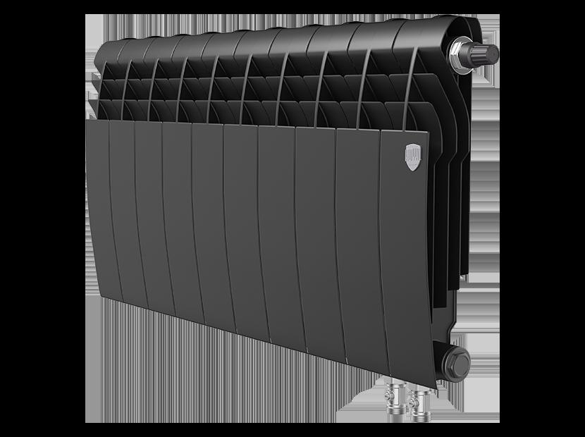 Радиатор биметалл Royal Thermo BiLiner 350 /Noir Sable VDR - 10 секц.