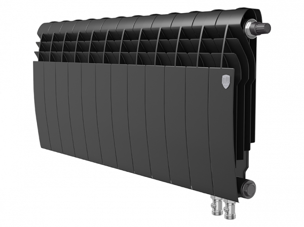 Радиатор биметалл Royal Thermo BiLiner 350 /Noir Sable VDR - 12 секц.