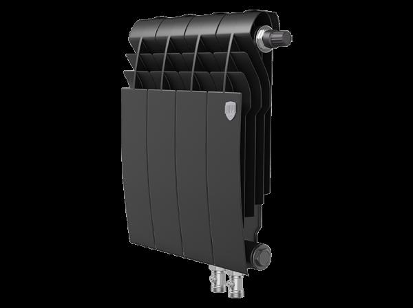 Радиатор биметалл Royal Thermo BiLiner 350 /Noir Sable VDR - 4 секц.