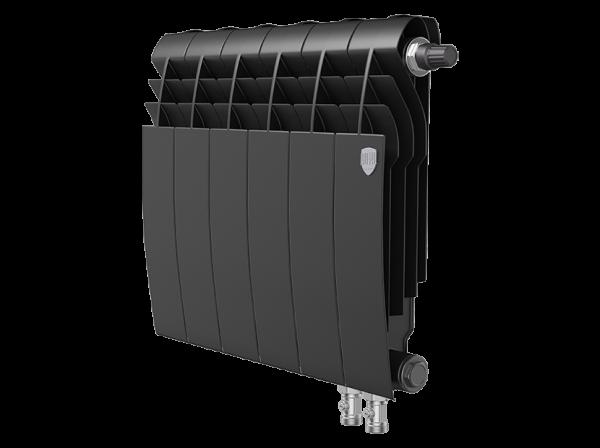 Радиатор биметалл Royal Thermo BiLiner 350 /Noir Sable VDR - 6 секц.