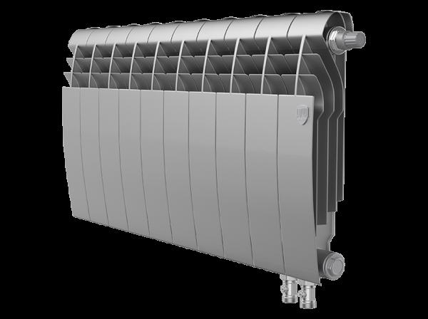 Радиатор биметалл Royal Thermo BiLiner 350 /Silver Satin VDR - 10 секц.