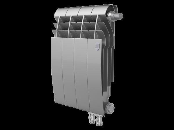 Радиатор биметалл Royal Thermo BiLiner 350 /Silver Satin VDR - 4 секц.