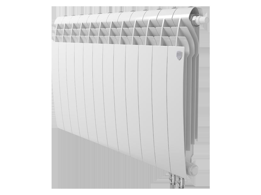 Радиатор биметалл Royal Thermo BiLiner 500 /Bianco Traffico VDR - 12 секц.