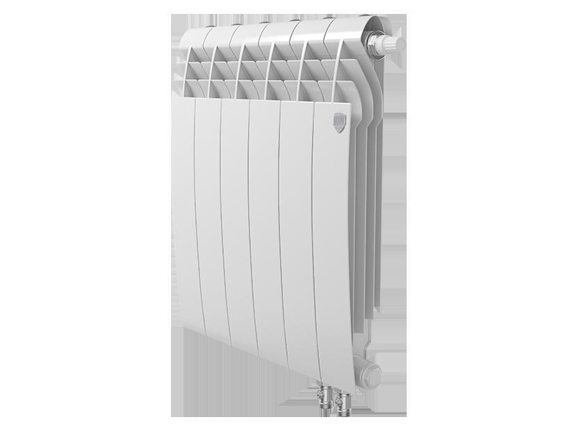 Радиатор биметалл Royal Thermo BiLiner 500 /Bianco Traffico VDR - 6 секц.