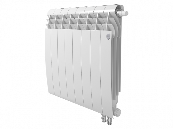 Радиатор биметалл Royal Thermo BiLiner 500 /Bianco Traffico VDR - 8 секц.