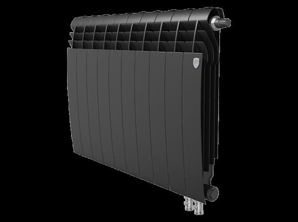 Радиатор биметалл Royal Thermo BiLiner 500 /Noir Sable VDR - 10 секц.