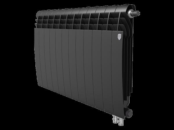 Радиатор биметалл Royal Thermo BiLiner 500 /Noir Sable VDR - 12 секц.