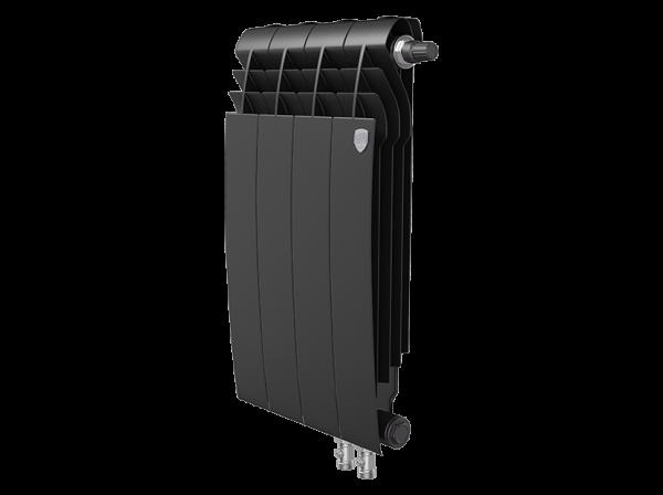 Радиатор биметалл Royal Thermo BiLiner 500 /Noir Sable VDR - 4 секц.