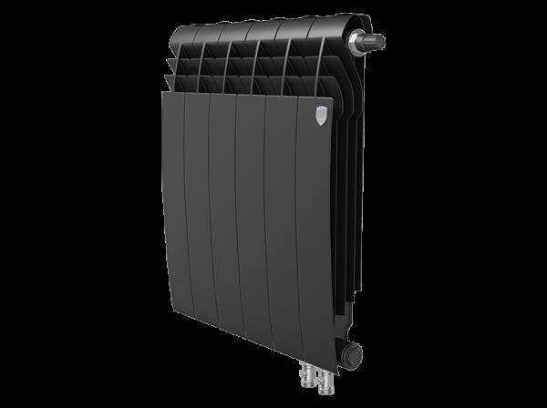 Радиатор биметалл Royal Thermo BiLiner 500 /Noir Sable VDR - 6 секц.
