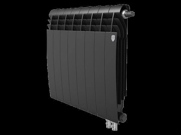 Радиатор биметалл Royal Thermo BiLiner 500 /Noir Sable VDR - 8 секц.
