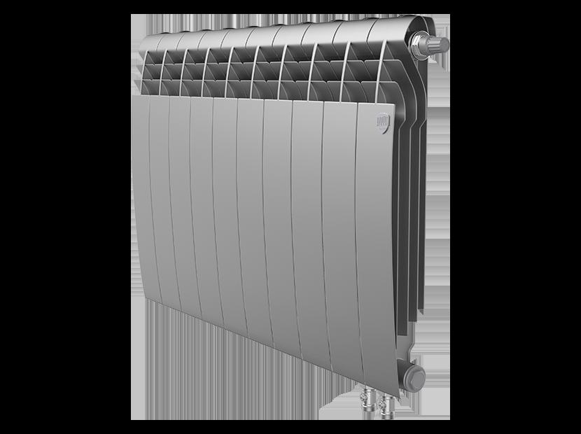 Радиатор биметалл Royal Thermo BiLiner 500 /Silver Satin VDR - 10 секц.