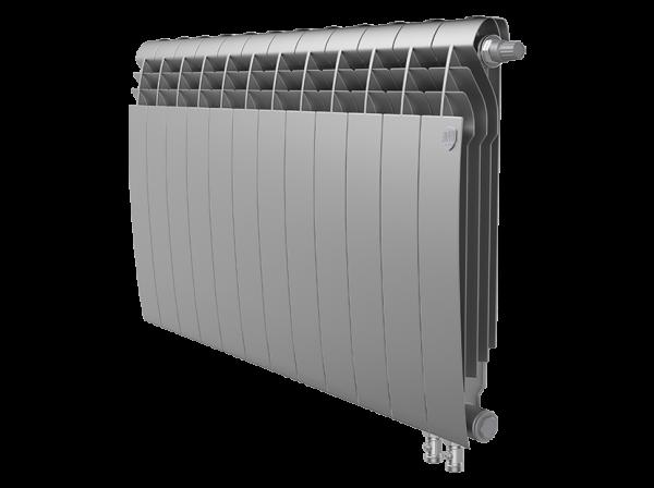 Радиатор биметалл Royal Thermo BiLiner 500 /Silver Satin VDR - 12 секц.