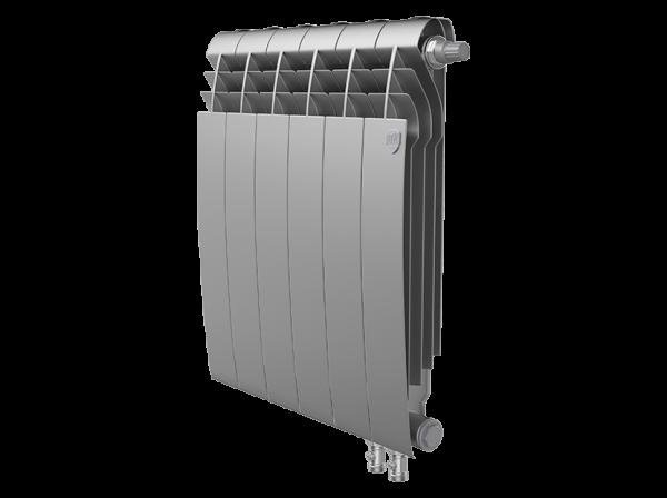 Радиатор биметалл Royal Thermo BiLiner 500 /Silver Satin VDR - 6 секц.