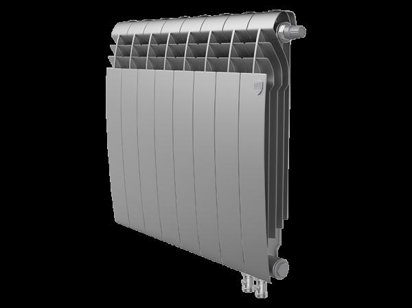 Радиатор биметалл Royal Thermo BiLiner 500 /Silver Satin VDR - 8 секц.