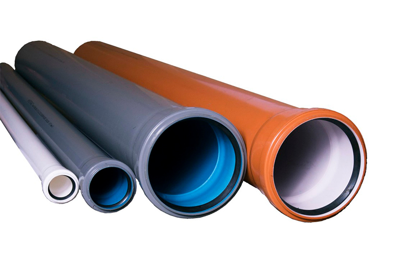Трубы из ПВХ или ПП для канализации